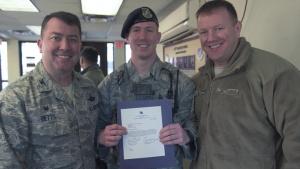 Command Chief Master Sergeant Adam Vizi, 51 FW/CCC intro video
