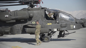 Three Apaches One C-5 - BROLL