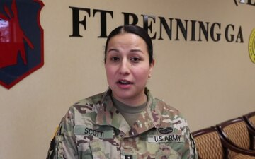 CPT Scott Sends a Women's History Month Greeting