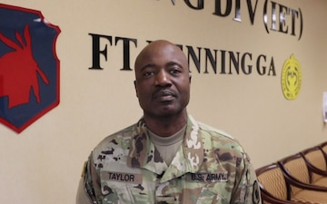 SFC Taylor Sends Out a Women's History Month Greeting to His Soldier Daughter