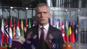 Doorstep by NATO Secretary General Jens Stoltenberg