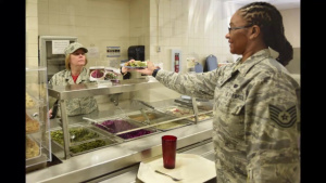 145th Airlift Wing Dining Facility Helps Local Charity