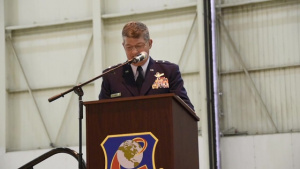 Brigadier General Clarence Ervin Retirement Ceremony