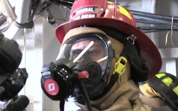 USS Bonhomme Richard damage control training drill - DPMA