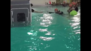 24 MEU completes underwater egress training