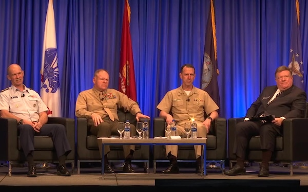 Sea Service Leaders Host Town Hall at AFCEA West