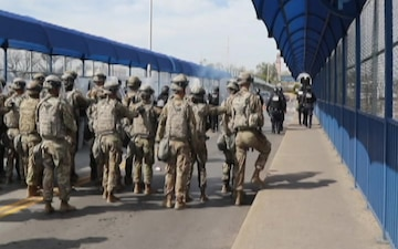 CBP conducts joint training with the 66th MP Company (B-Roll)
