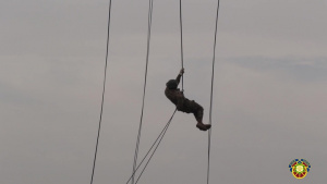 Day 9 of Air Assault: Helicopter Rappel