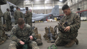 Marines and Sailors with 24th MEU rehearsed procedures for TRAP
