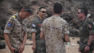 CJTF-HOA Foreign Liaison Officers Participate in Small Arms Familiarization