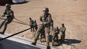 Air Assault Course Held on Camp Buehring
