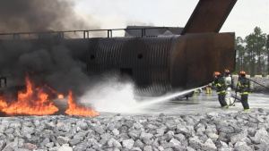 Fire Research and Training Facility Provides Extremely Realistic Firefighter Training
