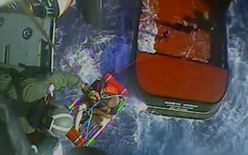 Coast Guard rescues man 170 miles west of St. Petersburg