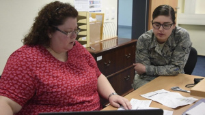 Tax Center volunteers help Spangdahlem Airmen file their taxes