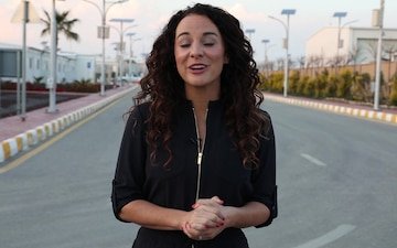 Danika Portz's Message to Service Members in Southwest Asia