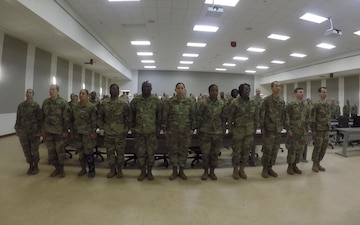 NCO Induction Ceremony - USARLC South Eastern OSLT