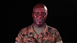 Master Gunnery Sgt. Henry - Black History Month