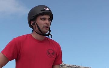 Airman Resiliency Stories: Skateboarding