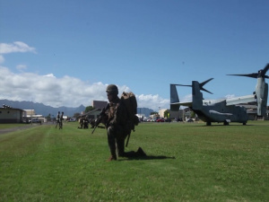 MV-22B's and A-10's: TRAP & CSAR Training