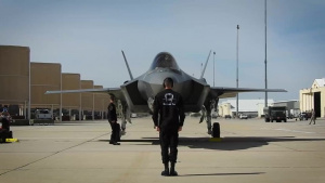 F-35 Demonstration Team Aircraft Recovery