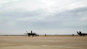 F-35 FARP training at Cannon AFB