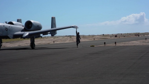 442nd Fighter Wing FARP on Kuaui
