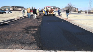 97th AMW Road Construction
