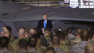 President Donald Trump Visits JBER B-roll