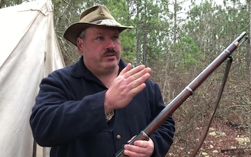 Mark Mills - Battle of Aiken Reenactor