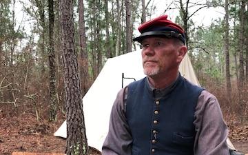 "Victor Rabern ""Battle of Aiken"" Reenactor"