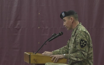 1-25th ARB and 4-6 HARS Transfer of Authority Ceremony