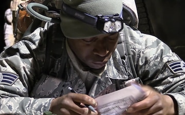 Texas Military Department's 2019 Best Warrior Competition Land Navigation