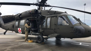 PATRIOT South 2019 - Army National Guard Soldiers conducts hoist training operations