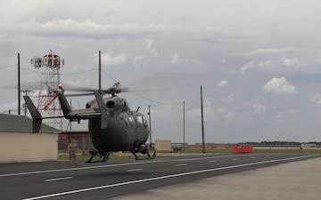 PATRIOT South 19 - BROLL - UH-72 Lakota takeoffs.