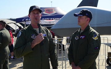 AIA mission commander speaks on USAF involvement