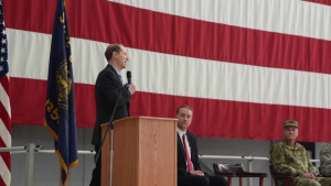 142nd Fighter Wing Hosts Mobilization Ceremony - Broll and Interviews