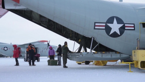 180th Fighter Wing SMSgt Carter goes to Antarctica (NO LOWER THIRD)
