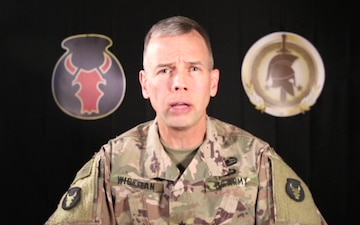 Brig. Gen. Mike Wickman speaks with Al Hurra