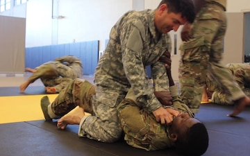Airmen and Soldiers Optimize Mission Readiness by Enhancing the Army's Combatives Program