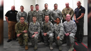 178th Security Forces Squadron Trains with Local Police Department