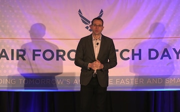 The Inaugural Air Force Pitch Day kicks off in New York