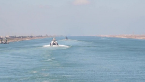 USS Florida Transits the Suez Canal