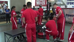 Marine Corps Trials Powerlifting Competition