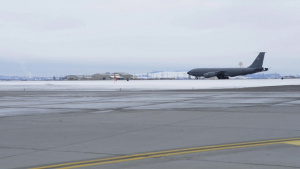 KC-135 Taxi and Take Off B-Roll