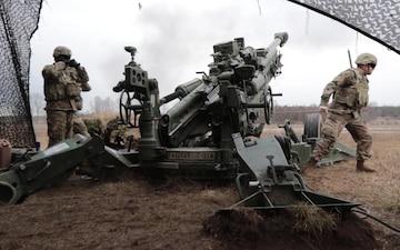 Guardsmen in Poland -- Dynamic Front 19