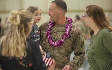 Hillclimbers Welcome Home Ceremony B-Roll and Interviews