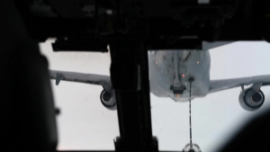 KC-10 Refuels CV-22 Part 2.