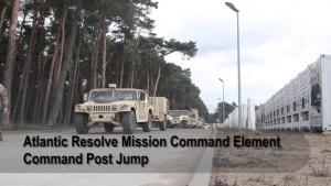 Social Media: 1ID MCE Command Post Jump