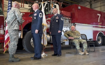 Chief Master Sgt. Clifford Otto retirement ceremony