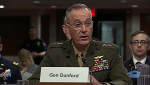 Dunford briefs the budget